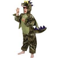 Bild på Dinosauriedräkt Barn Deluxe (Small (2-3 år))