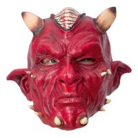 Bild på Djävulsmask med Horn - One size