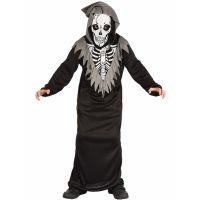 Bild på Döden Skelettdräkt Barn (Small (5-6 år))