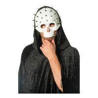 Bild på Dödskallemask Vit med Nitar - One size