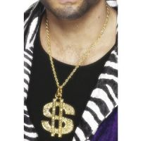 Bild på Dollartecken medaljong, guld