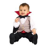 Bild på Dracula med Mantel Bebis Maskeraddräkt - One size
