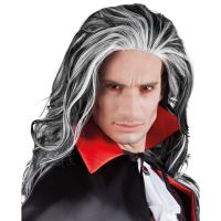 Bild på Dracula Vampyr Peruk