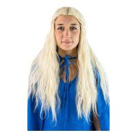 Bild på Drakdrottning Blond Peruk - One size