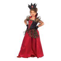 Bild på Drottning Halloween Barn Deluxe Maskeraddräkt - Small