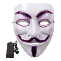 Bild på EL Wire V For Vendetta LED Mask - Orange