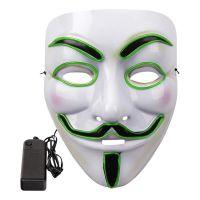 Bild på EL Wire V For Vendetta LED Mask - Rosa