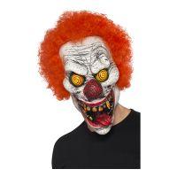 Bild på Elak Clown med Hår Mask - One size