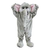 Bild på Elefantmaskot Deluxe Maskeraddräkt - One size
