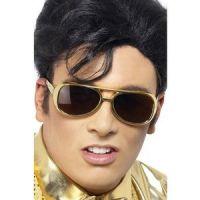 Bild på Elvis guld solglasögon
