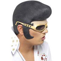 Bild på Elvis Halvmask med Gummiglasögon