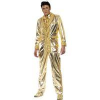 Bild på Elvis maskeraddräkt guld