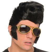 Bild på Elvis Peruk med Solglasögon