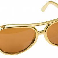 Bild på Elvis Solglasögon Guld