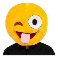 Bild på Emoji Crazy Face Mask - One size