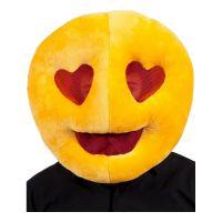 Bild på Emoji Heart Eyes Mask - One size