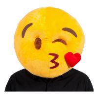 Bild på Emoji Kissing Face Mask - One size