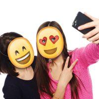 Bild på Emoji Partymasker 5-pack