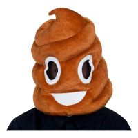 Bild på Emoji Pile of Poo Mask - One size
