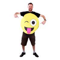 Bild på Emoji Stick Out Tongue Maskeraddräkt - One size