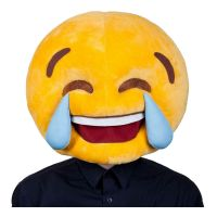 Bild på Emoji Tears of Joy Mask - One size