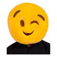 Bild på Emoji Wink Face Mask - One size