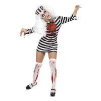 Bild på Fångdräkt Kvinnlig Zombie Maskeraddräkt - Small