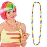 Bild på Färgglatt Halsband med Pärlor