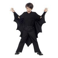 Bild på Fladdermusvingar för Barn Svarta - One size