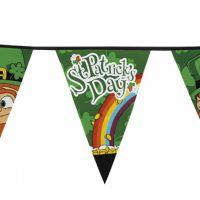 Bild på Flaggirlang Stor St Patricks Day 8m