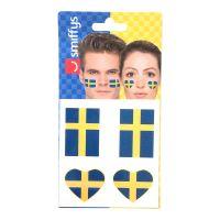 Bild på Flaggtatuering Sverige