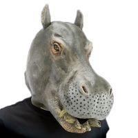 Bild på Flodhäst Latexmask