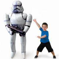 Bild på Folieballong Stormtrooper Airwalker