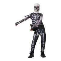 Bild på Fortnite Skull Trooper Barn Maskeraddräkt - Medium