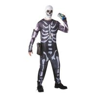 Bild på Fortnite Skull Trooper Maskeraddräkt - Small