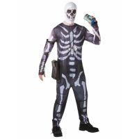 Bild på Fortnite Skull Trooper Maskeraddräkt (Small)