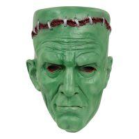 Bild på Frankensteins Monster Mask Grön - One size