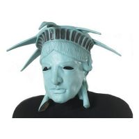 Bild på Frihetsgudinnan Latexmask - One size
