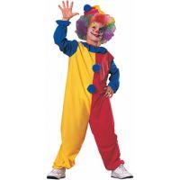 Bild på Galen Clown Maskeraddräkt Barn