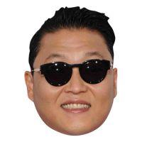 Bild på Gangnam Style Pappmask - One size
