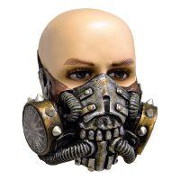Bild på Gasmask med Nitar Latexmask - One size