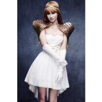 Bild på Glamorous ängel maskeraddräkt