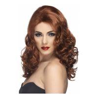 Bild på Glamour Rödbrun Peruk - One size