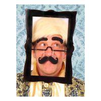 Bild på Glasögon med Fotoram & Mustasch