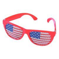 Bild på Glasögon med USA-Flagga