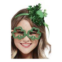 Bild på Glasögon St Patricks Day Grön/Glitter - One size