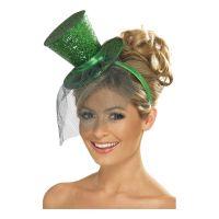 Bild på Glittrig Minihatt - Grön
