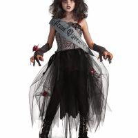 Bild på Goth Prom Queen Maskeraddräkt Barn Medium