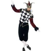 Bild på Gotisk venetiansk Harlequin man maskeraddräkt