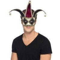Bild på Gotisk venetiansk Harlequin ögonmask